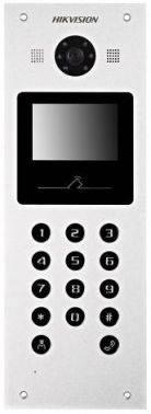 Видеопанель Hikvision DS-KD6002-VM серебристый