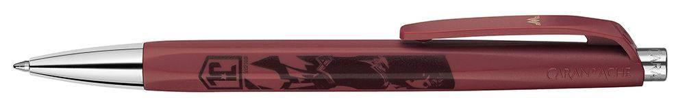 Ручка шариковая Carandache Office INFINITE WONDER WOMAN бордовый (888.703) - фото 1