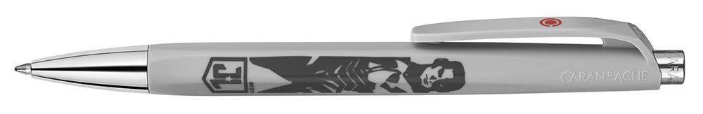 Ручка шариковая Carandache Office INFINITE FLASH/CYBORG белый/красный (888.705) - фото 2
