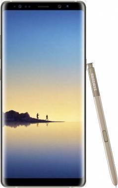 Смартфон Samsung Galaxy Note 8 SM-N950F 64ГБ золотистый (SM-N950FZDDSER)