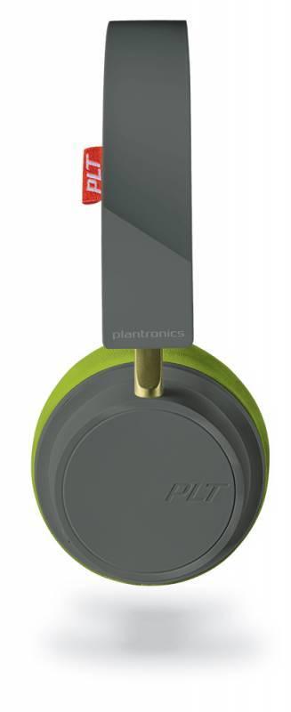 Гарнитура Plantronics BackBeat 500 серый/зеленый (207850-01) - фото 1