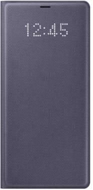 Чехол Samsung LED View Cover, для Samsung Galaxy Note 8, фиолетовый (EF-NN950PVEGRU)
