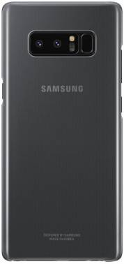 Чехол Samsung Clear Cover Great, для Samsung Galaxy Note 8, черный (EF-QN950CBEGRU)