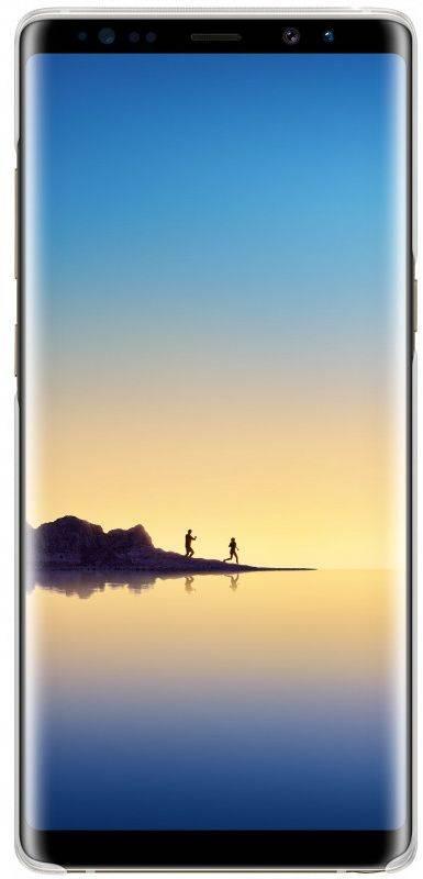 Чехол Samsung Clear Cover Great, для Samsung Galaxy Note 8, прозрачный (EF-QN950CTEGRU) - фото 2