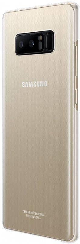 Чехол Samsung Clear Cover Great, для Samsung Galaxy Note 8, прозрачный (EF-QN950CTEGRU) - фото 3