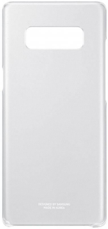 Чехол Samsung Clear Cover Great, для Samsung Galaxy Note 8, прозрачный (EF-QN950CTEGRU) - фото 4