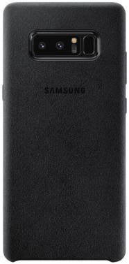 Чехол Samsung Alcantara Cover Great, для Samsung Galaxy Note 8, черный (EF-XN950ABEGRU)