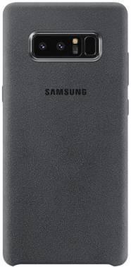 Чехол Samsung Alcantara Cover Great, для Samsung Galaxy Note 8, темно-серый (EF-XN950AJEGRU)