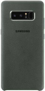Чехол Samsung Alcantara Cover Great, для Samsung Galaxy Note 8, хаки (EF-XN950AKEGRU)