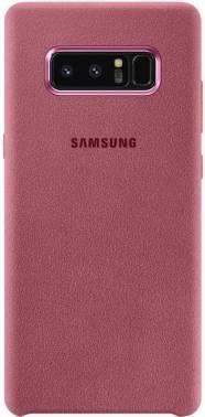 Чехол Samsung Alcantara Cover Great, для Samsung Galaxy Note 8, розовый (EF-XN950APEGRU)
