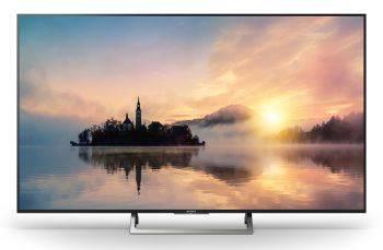 Телевизор LED 43 Sony KD43XE7096BR черный / серебристый