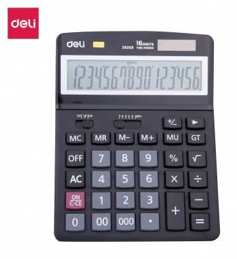 Калькулятор настольный Deli E39259 черный