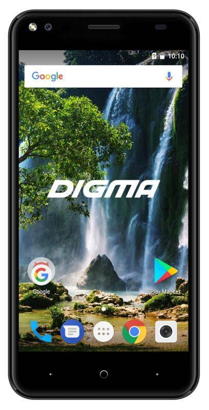 Смартфон Digma E502 4G VOX 16ГБ черный (VS5036PL) - фото 1