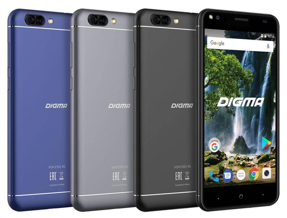 Смартфон Digma E502 4G VOX 16ГБ черный - фото 8