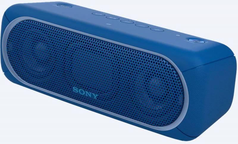 Колонка портативная Sony SRS-XB30 синий (SRSXB30L.RU4) - фото 1