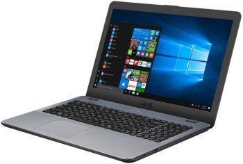 Ноутбук 15.6 Asus VivoBook X542UQ-DM187T (90NB0FD2-M02440) темно-серый