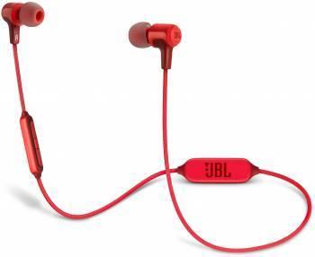 Гарнитура JBL E25BT красный (JBLE25BTRED)