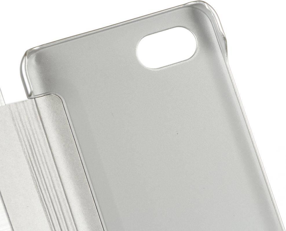 Чехол LG M700 VOIA, для LG Q6, серебристый - фото 5