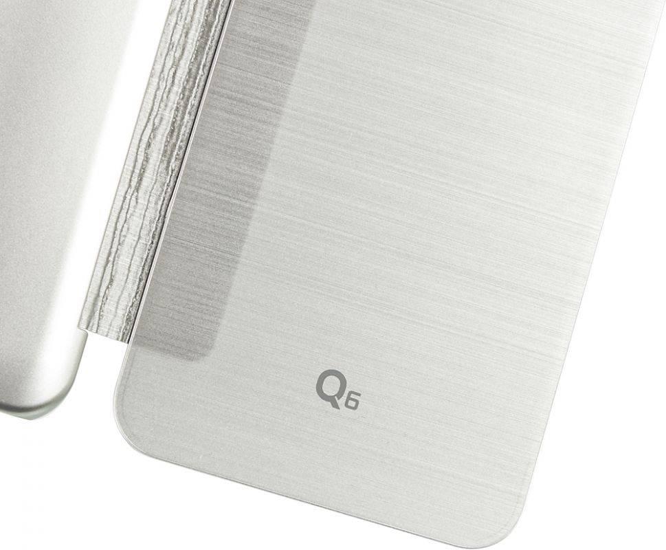 Чехол LG M700 VOIA, для LG Q6, серебристый - фото 7