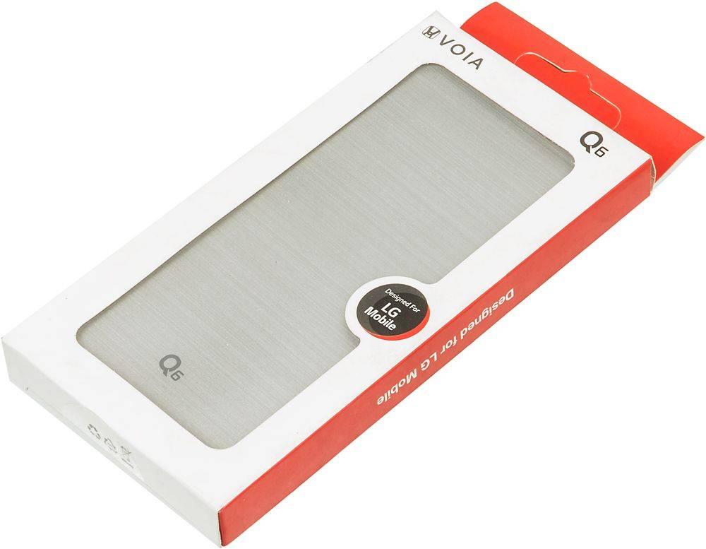 Чехол LG M700 VOIA, для LG Q6, серебристый - фото 8