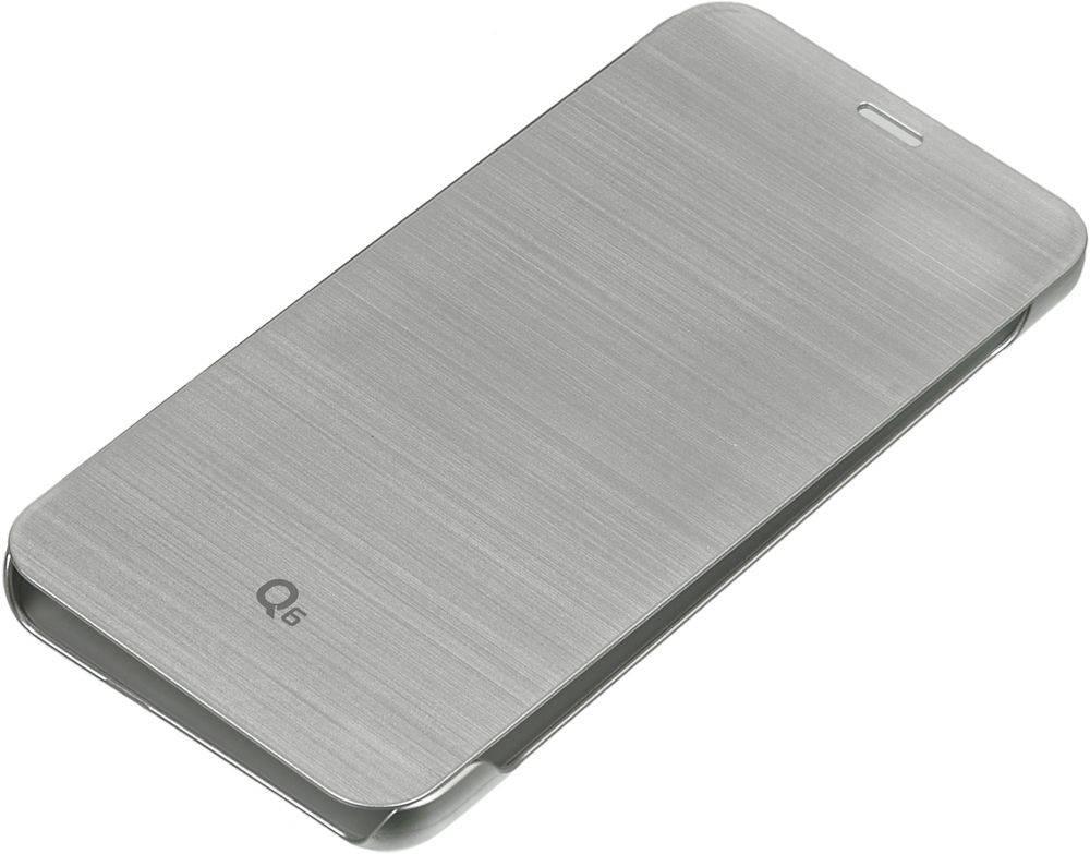 Чехол LG M700 VOIA, для LG Q6, серебристый - фото 1