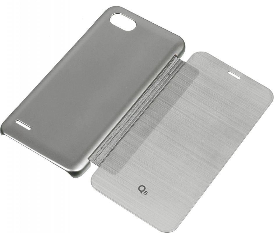 Чехол LG M700 VOIA, для LG Q6, серебристый - фото 3