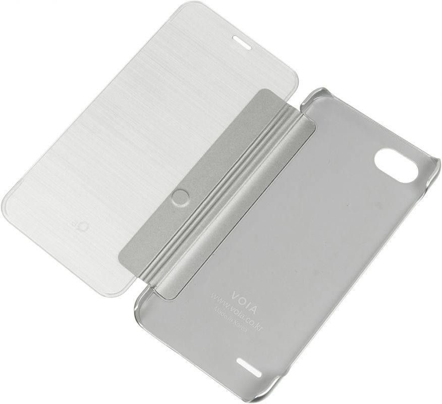 Чехол LG M700 VOIA, для LG Q6, серебристый - фото 4
