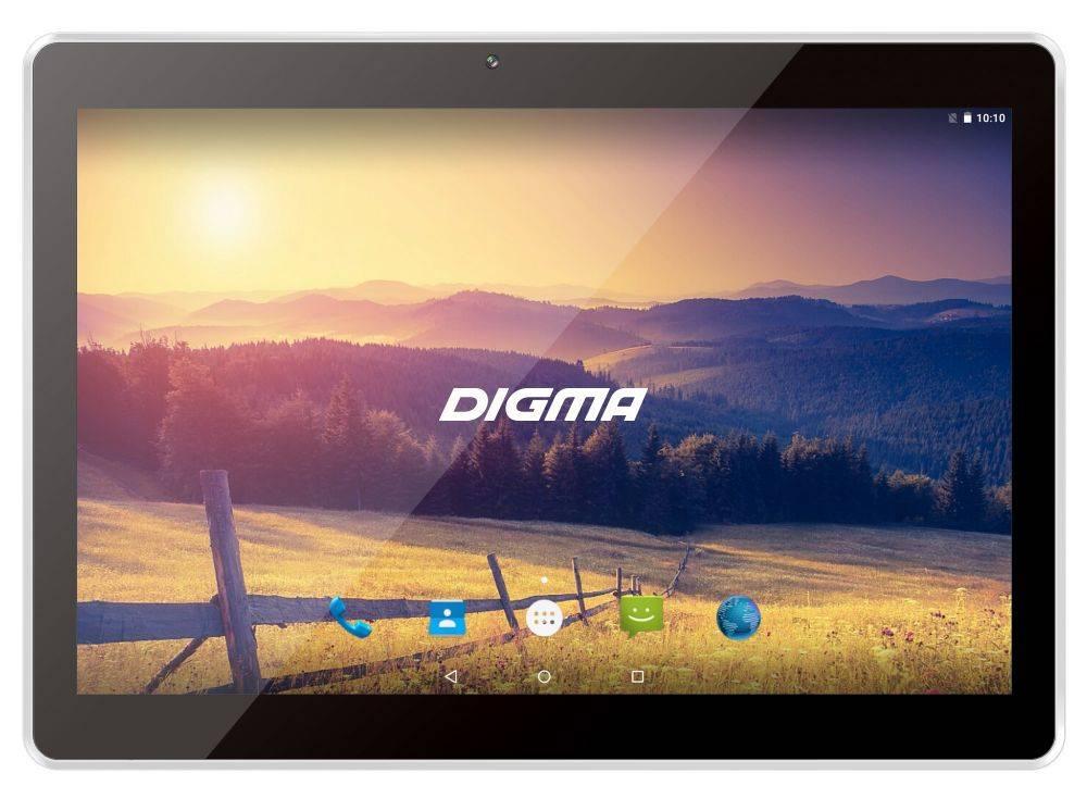"Планшет 10.1"" Digma Plane 1524 3G 16ГБ серебристый - фото 1"
