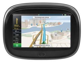 "GPS-навигатор Neoline Moto 2 4.3"" черный"