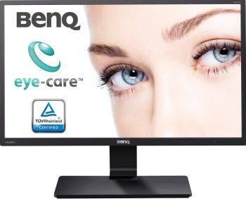 Монитор Benq GW2270HE черный, диагональ экрана 21.5, разрешение 1920x1080, тип матрицы VA, матовая, время отклика 5ms, соотношение сторон 16:9, контраст 20000000:1, яркость 250cd, разъемы HDMI D-Sub