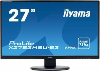 """Монитор 27"""" Iiyama ProLite X2783HSU-B3 черный"""