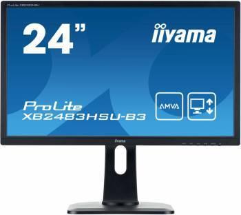 """Монитор 24"""" Iiyama ProLite XB2483HSU-B3 черный"""