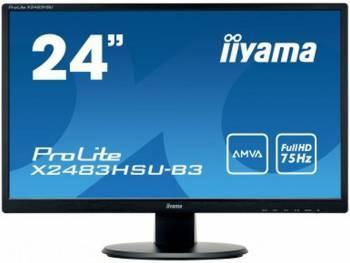 Монитор 24 Iiyama X2483HSU-B3 черный