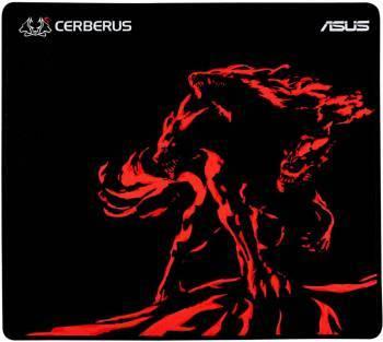 Коврик для мыши Asus CERBERUS MAT PLUS черный / красный
