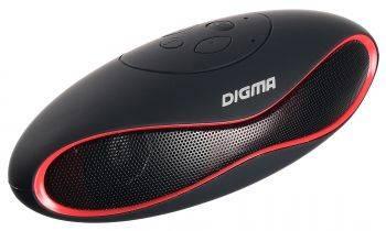 Колонка портативная Digma S-10 черный (SP103B)