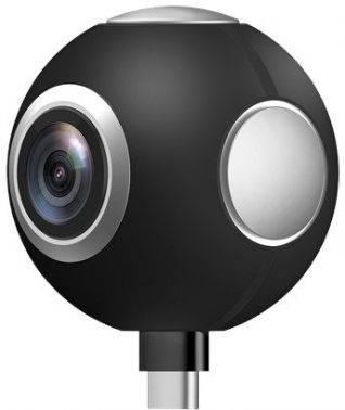 Камера Asus 360 черный (90AC02G0-BMK002)