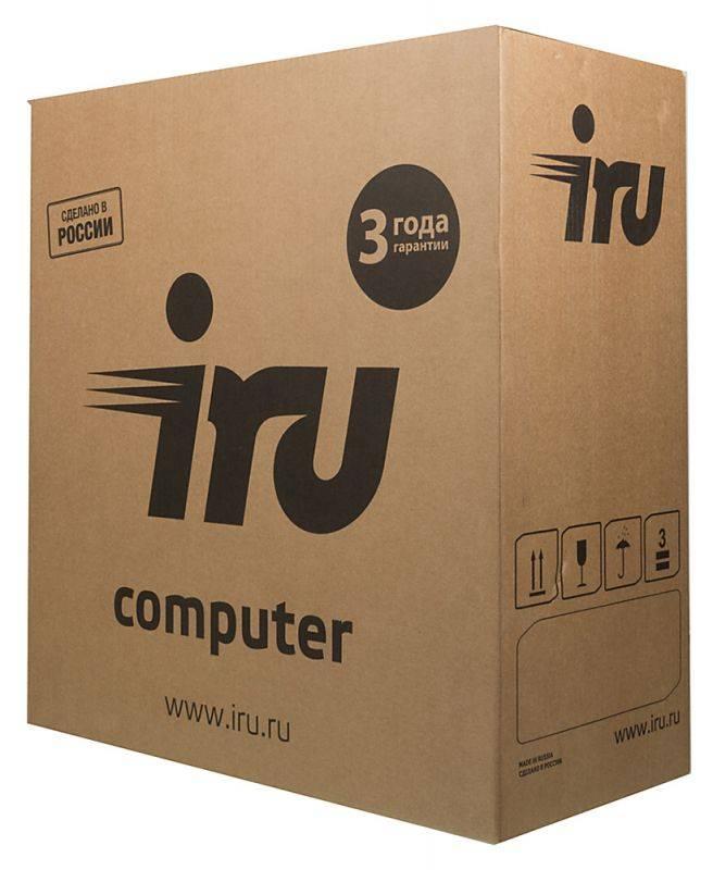 Системный блок IRU Home 313 черный (497780) - фото 10