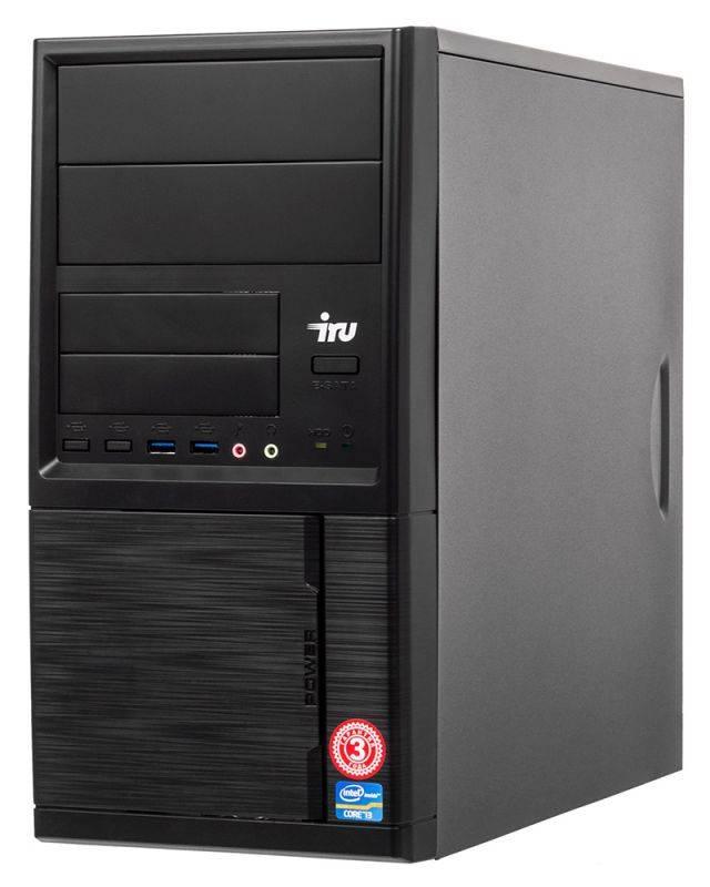 Системный блок IRU Home 313 черный (497780) - фото 1