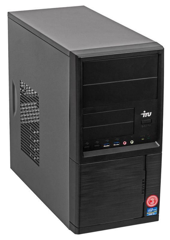 Системный блок IRU Home 313 черный (497780) - фото 3