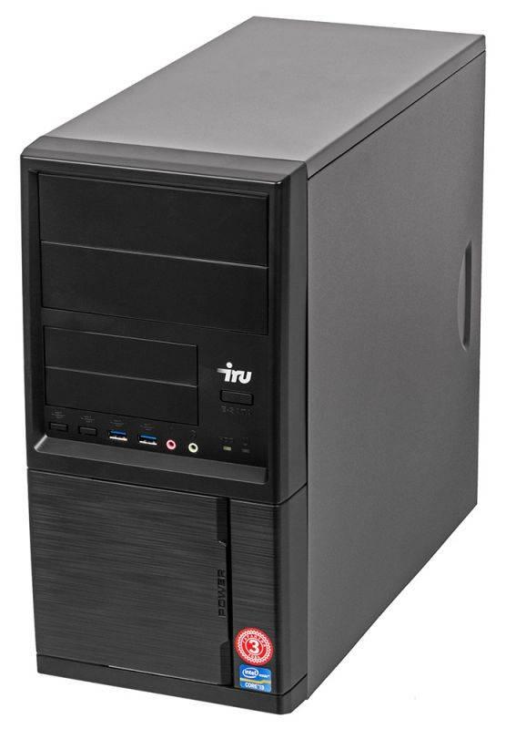 Системный блок IRU Home 313 черный (497780) - фото 4
