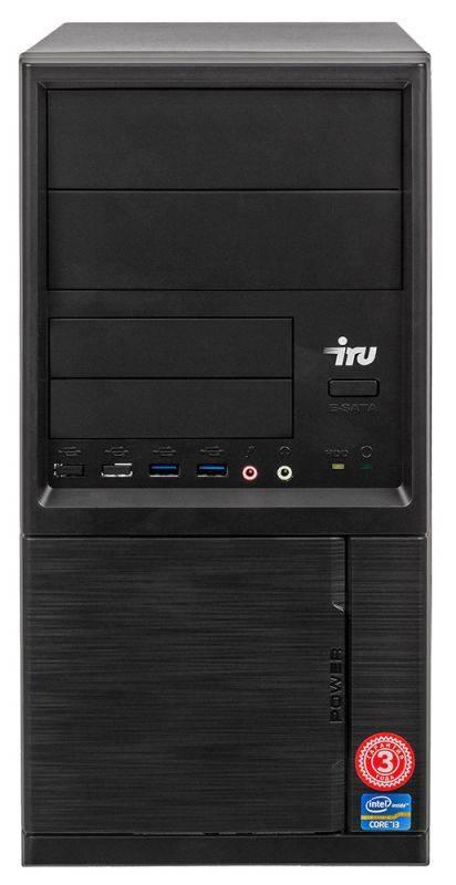 Системный блок IRU Home 313 черный (497780) - фото 5