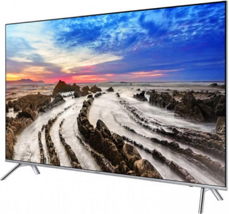 "Телевизор LED 82"" Samsung UE82MU7000UXRU серебристый - фото 3"