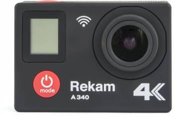 Экшн-камера Rekam A340 черный (2680000007)