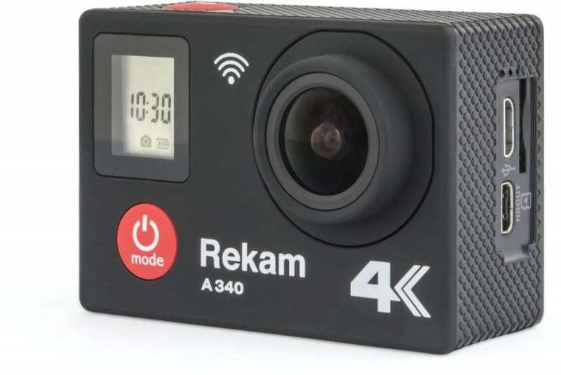 Экшн-камера Rekam A340 черный (2680000007) - фото 2