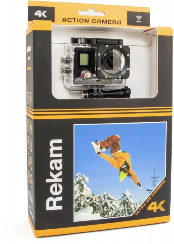 Экшн-камера Rekam A340 черный - фото 5