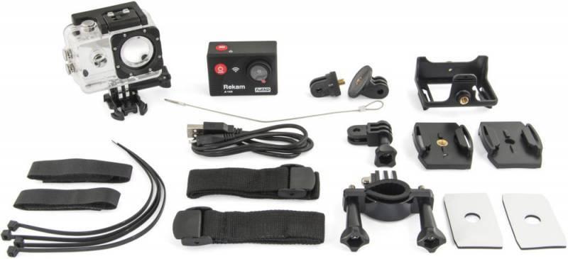 Экшн-камера Rekam A140 черный - фото 4