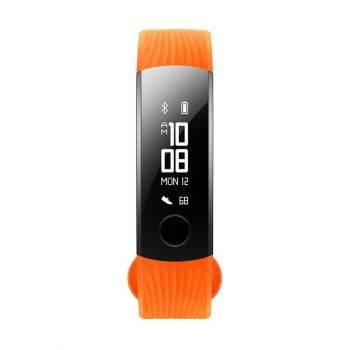 Фитнес-трекер Huawei Honor band 3 NYX-B10 PMOLED оранжевый/черный