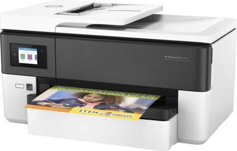 МФУ HP Officejet Pro 7720 белый (Y0S18A) - фото 1