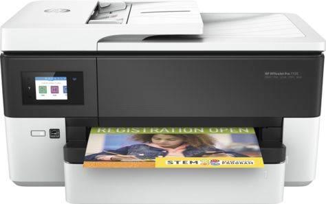 МФУ HP Officejet Pro 7720 белый (Y0S18A) - фото 3