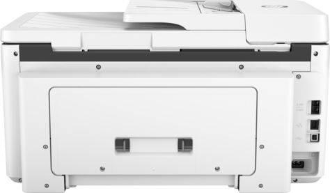 МФУ HP Officejet Pro 7720 белый (Y0S18A) - фото 4